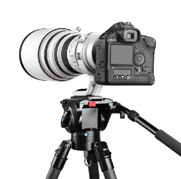 思锐 VH-15 液压云台 摄像机 单反相机 专业液压阻尼云台 打鸟
