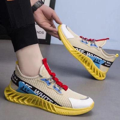 男鞋2021年夏季新款夏季网红爆款青少年休闲运动鞋男ins老爹潮鞋