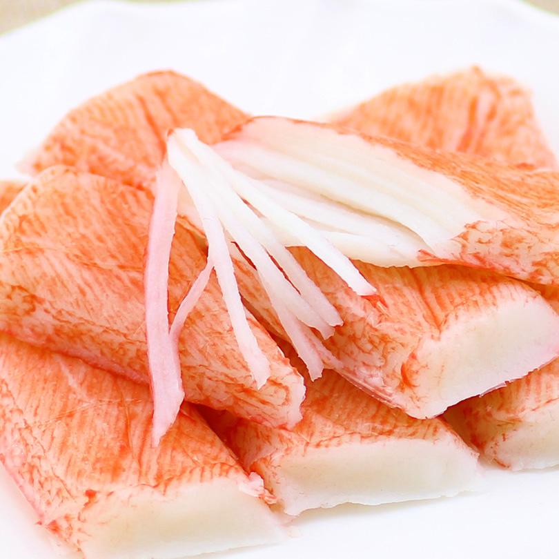 进口韩国思潮大林模拟蟹肉蟹棒日本手撕蟹柳即食蟹肉棒零食90g*5