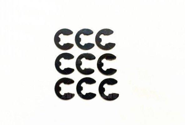 遙控模型油電車通用 2.0mm  E型卡扣 卡簧 卡環 E扣 櫻花車架配件