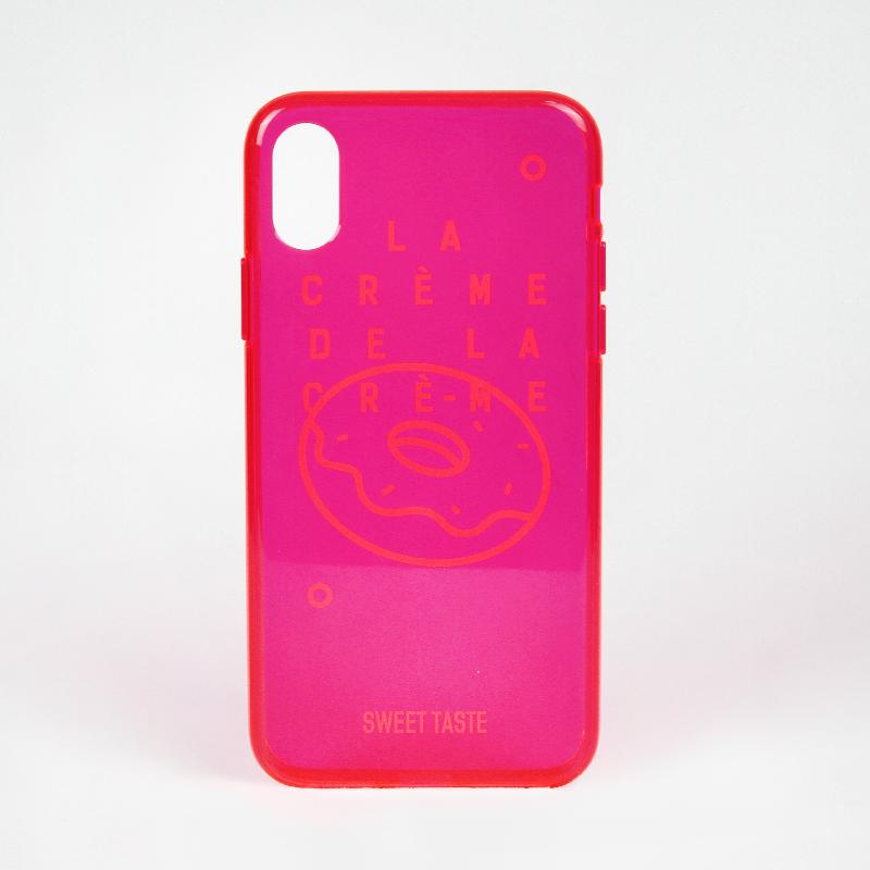 OOES TASTE适用苹果11少女心玫瑰红11Pro甜甜圈全包Xsmax手机壳