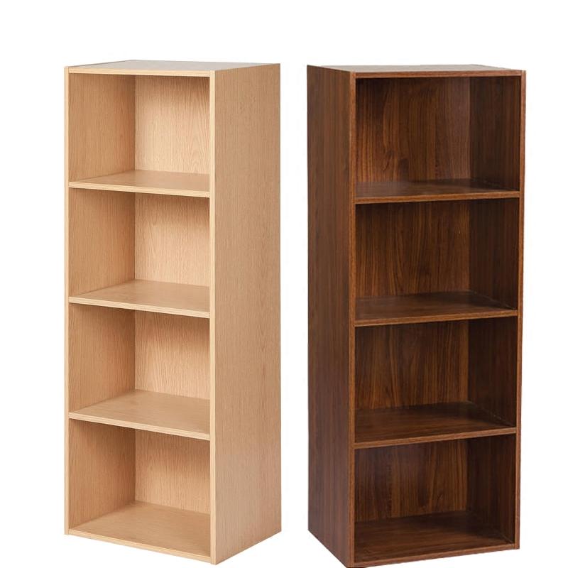 包邮简易儿童书柜书架书橱现代简约落地组合小木柜子储物柜收纳柜