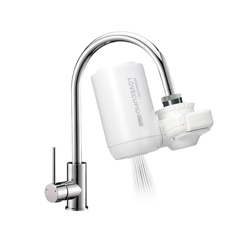 艾可丽净水器水龙头过滤器自来水家用非直饮厨房滤水器净水机