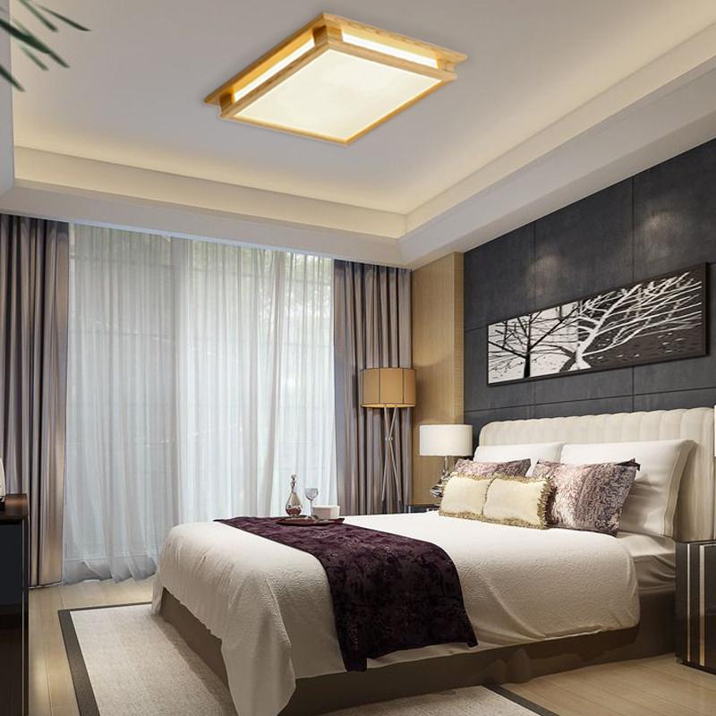 北欧风格灯具宜家客厅灯简约现代家用个性创意正方形房间灯卧室灯