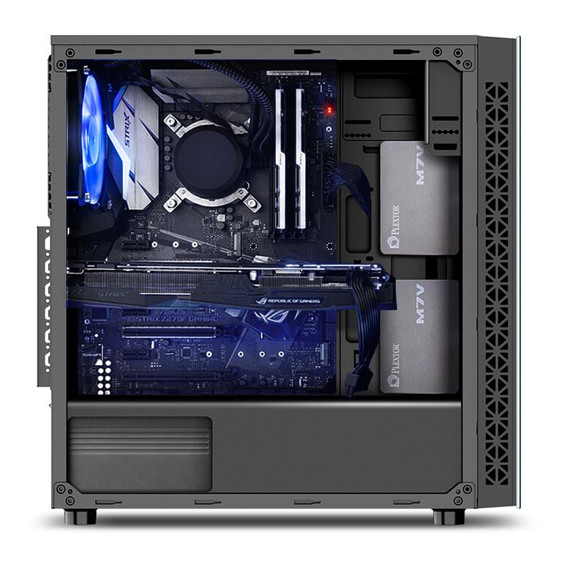 整机 DIY 大板吃鸡游戏直播能玩绝地求生大逃杀逆水寒全套组装电脑台式兼容主机 Z370 8700K i7 内存高端六核 16G