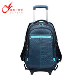 Pupils boy 1--3--6 haul bags for children in grades 6-12 year old girls detachable trolley bags