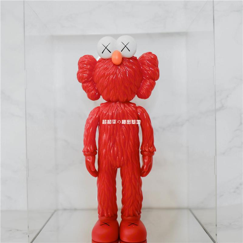 chn kaws芝麻街BFF潮流手办公仔摆件潮牌模型玩偶玩具装饰设计师