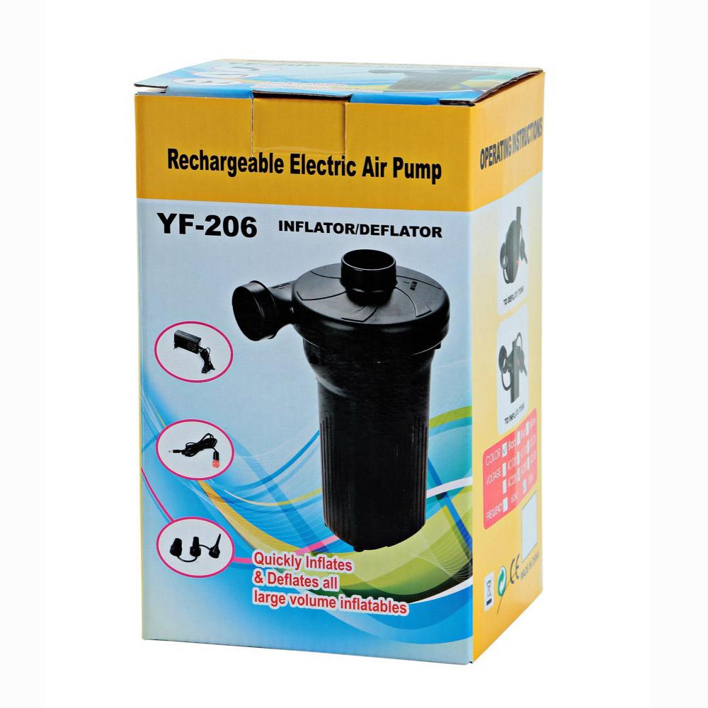 欧富多功能蓄电池泵 家车两用电动充气泵 可冲充气床 气船 游泳池