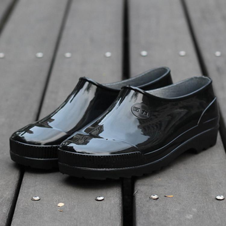 正品回力雨鞋男低筒元宝短筒防水鞋女防滑耐磨雨靴胶鞋工作劳保鞋
