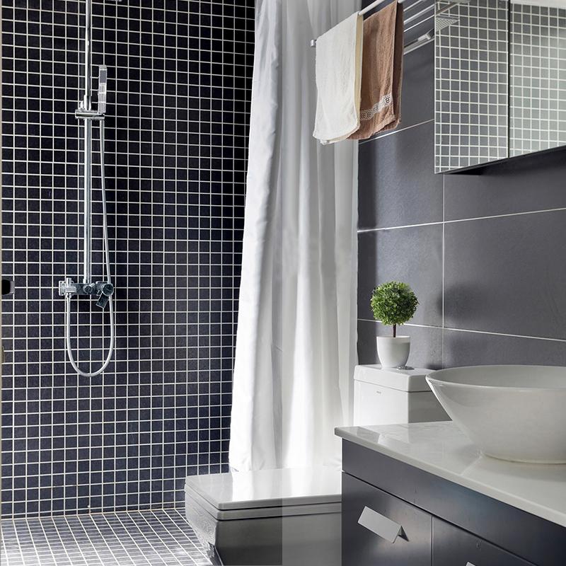 水池水晶玻璃马赛克电视背景墙贴拼图游泳池瓷砖卫生间洗手间自粘