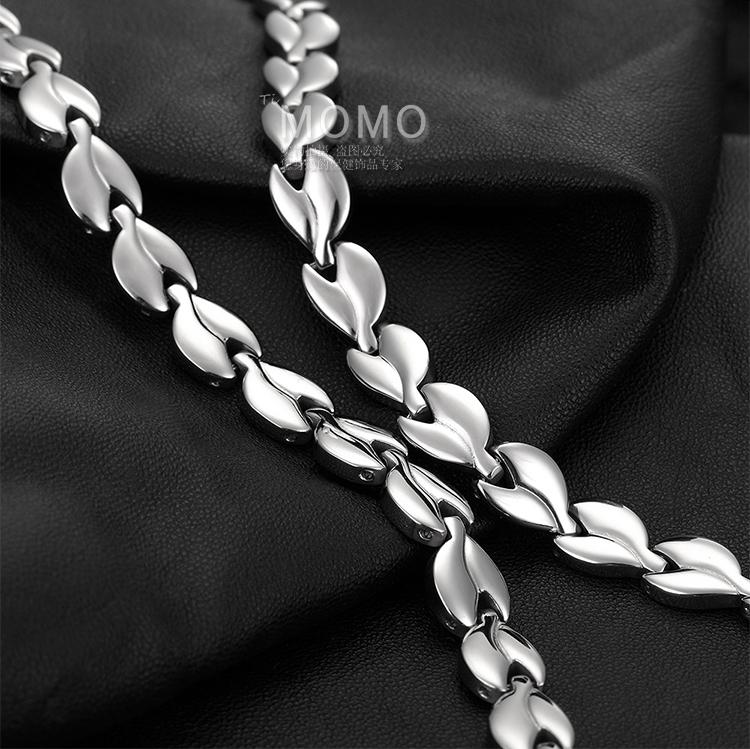 日本正品降血压项链头昏头晕降压钛项圈纯钛锗石正负离子磁疗项链