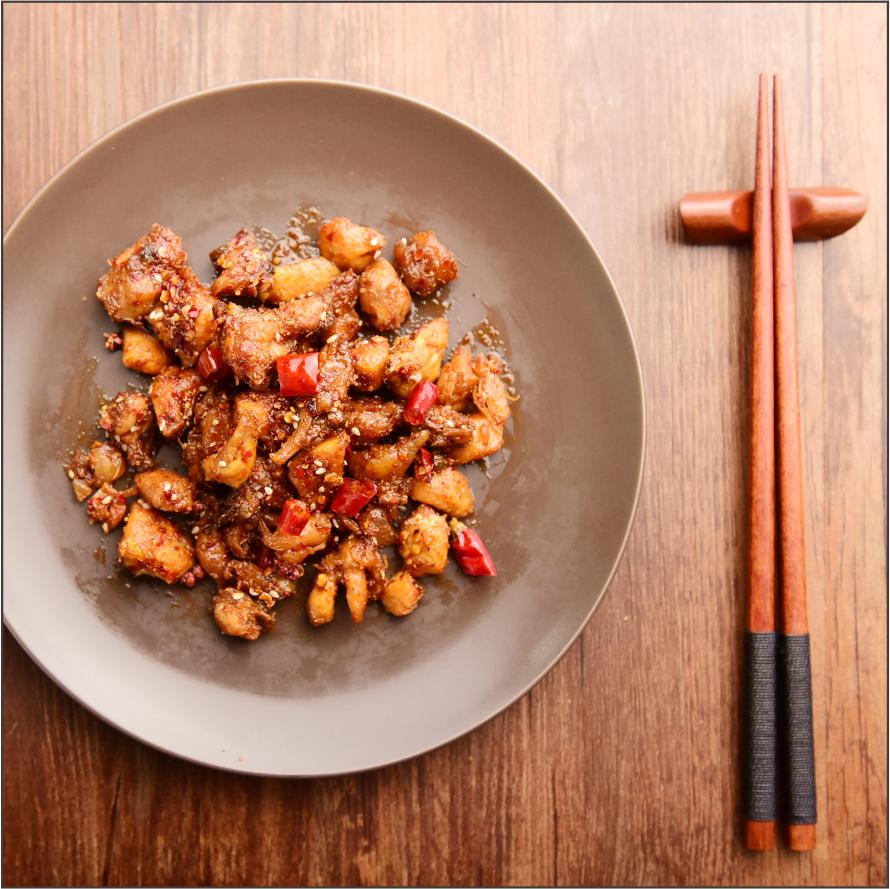 怪婆婆私房小吃四川零食冷吃兔自贡特产麻辣香辣小吃兔丁