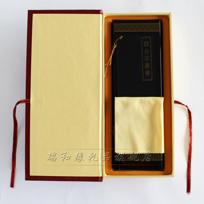 八扇仿古漆器小屏风摆件 中国风特色出国礼品送老外朋友外事礼物