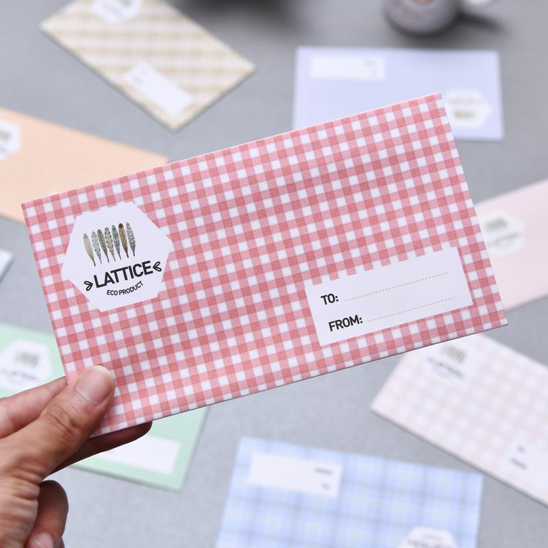 简约日式和风信封信纸文艺小清新   套装 彩色创意情书爱心信封