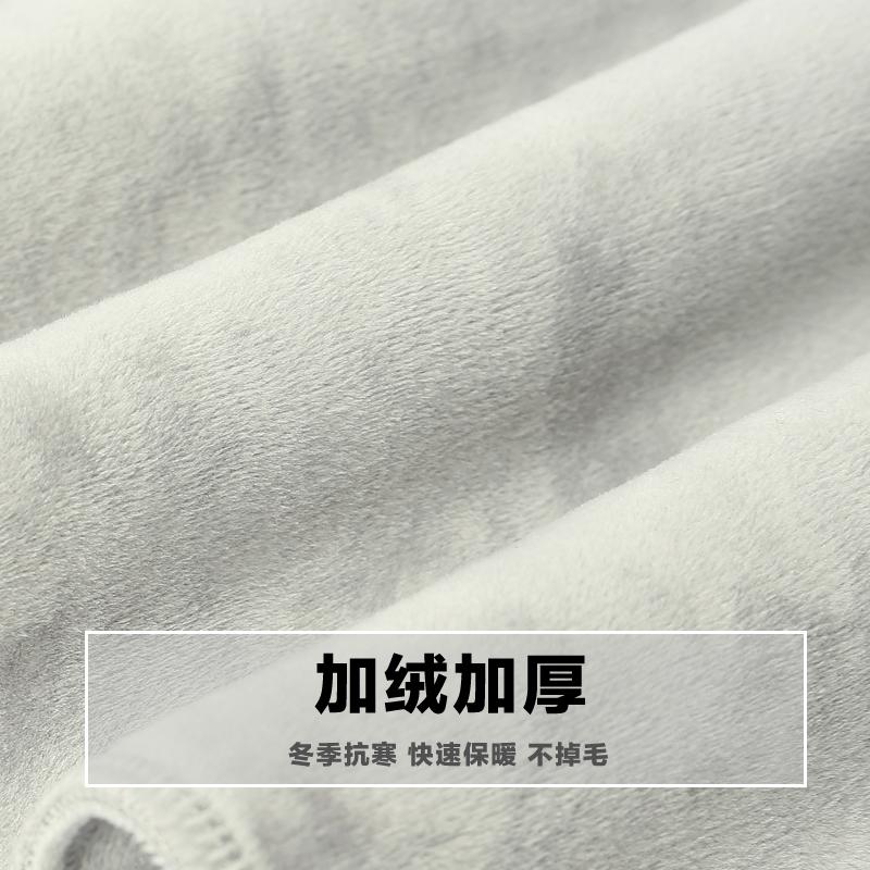 运动裤男士休闲长裤子男秋季宽松直筒纯棉跑步秋冬款加绒加厚卫裤