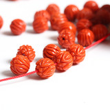 Special Zen, lotus beads with immortal air. 9-10mm Wassi Boutique South Red Accessories
