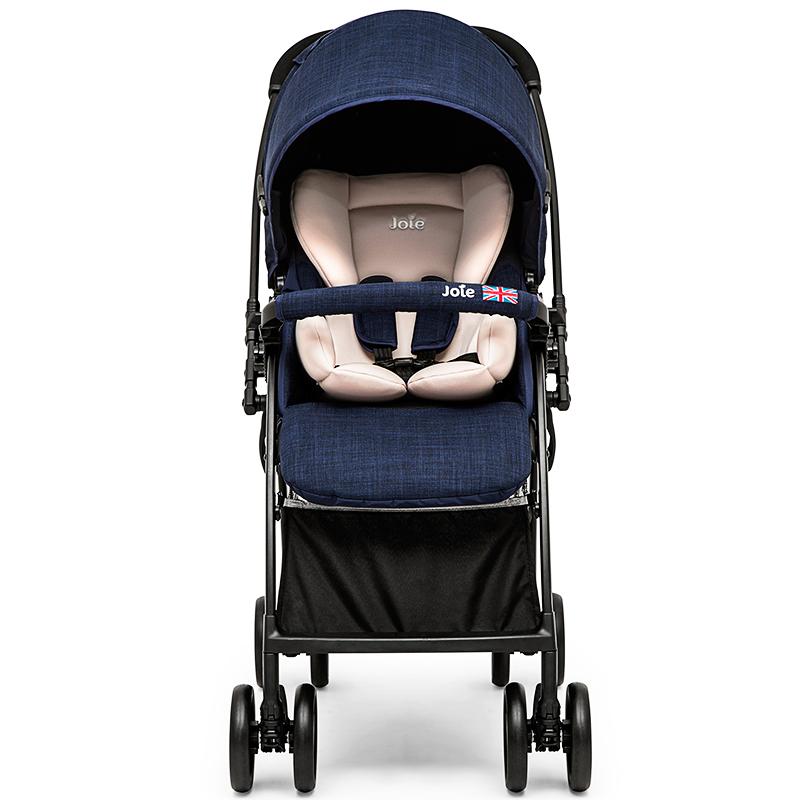 英国巧儿宜joie芙洛特高景观轻便婴儿推车双向折叠避震宝宝童车