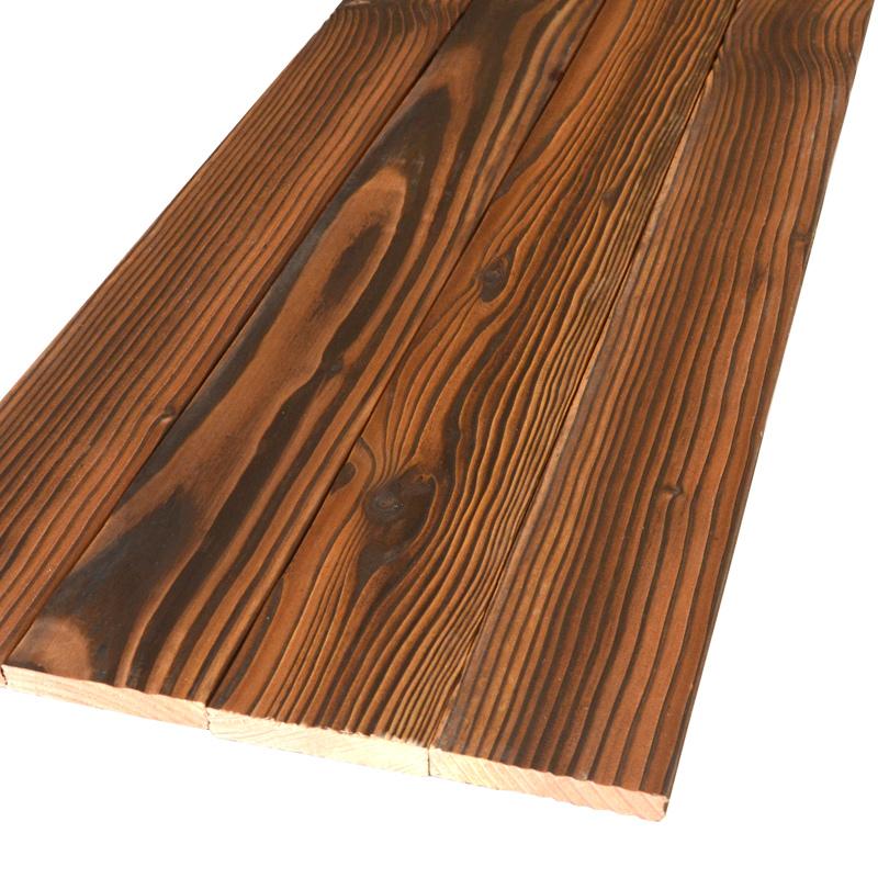 尚品户外防腐木葡萄架地板碳化木护墙板吊顶桑拿板龙骨木条90*10