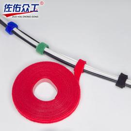 魔术贴扎带理线带双面粘贴带 电脑整理自黏式绑线带 机房线缆整理