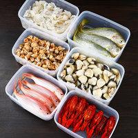 日本进口nakaya保鲜盒套装冰箱专用冷冻生鲜蔬菜水果冷藏收纳盒 (¥19)