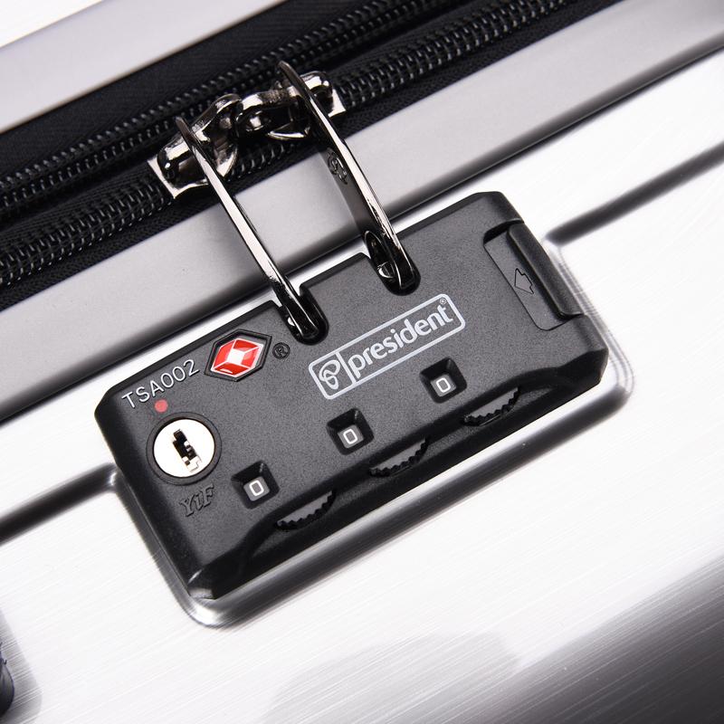 凌秀旅行箱飞机轮行李箱学生大容量20寸登机箱子男女密码锁出国28