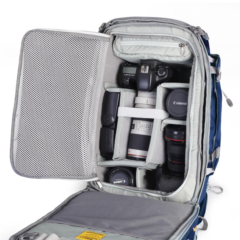 安诺格尔A2313轻便户外防盗摄影包 单反双肩相机包佳能单反包背包