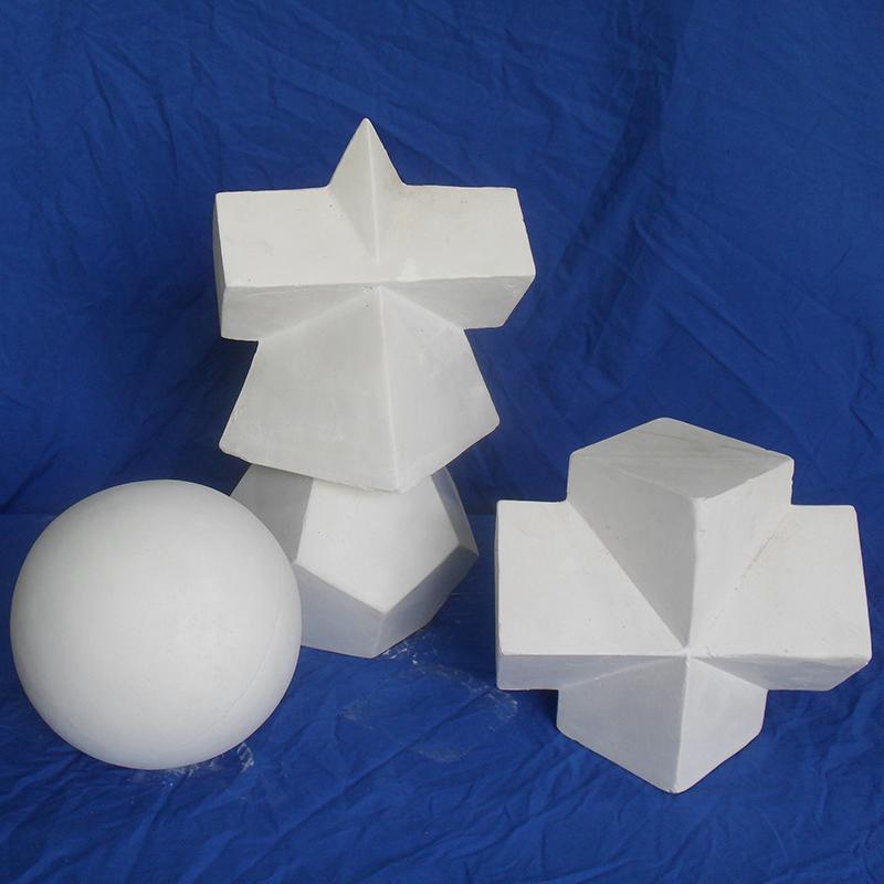 石膏几何体正品快递包邮美术用品画材画室写生素描石膏像几何形体