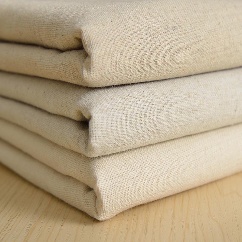 亞麻布料 原色本色素色 背景棉麻布 沙發布 diy拼布 手工桌布布料