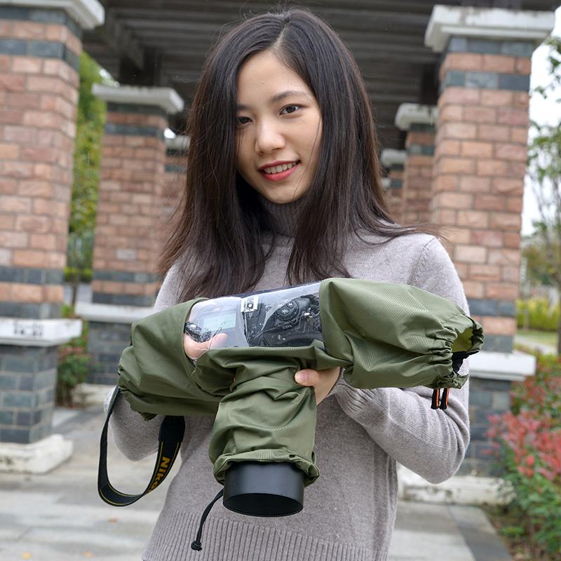 照相机防尘罩单反相机防雨罩摄影遮雨沙漠防水套雨衣佳能尼康5D4