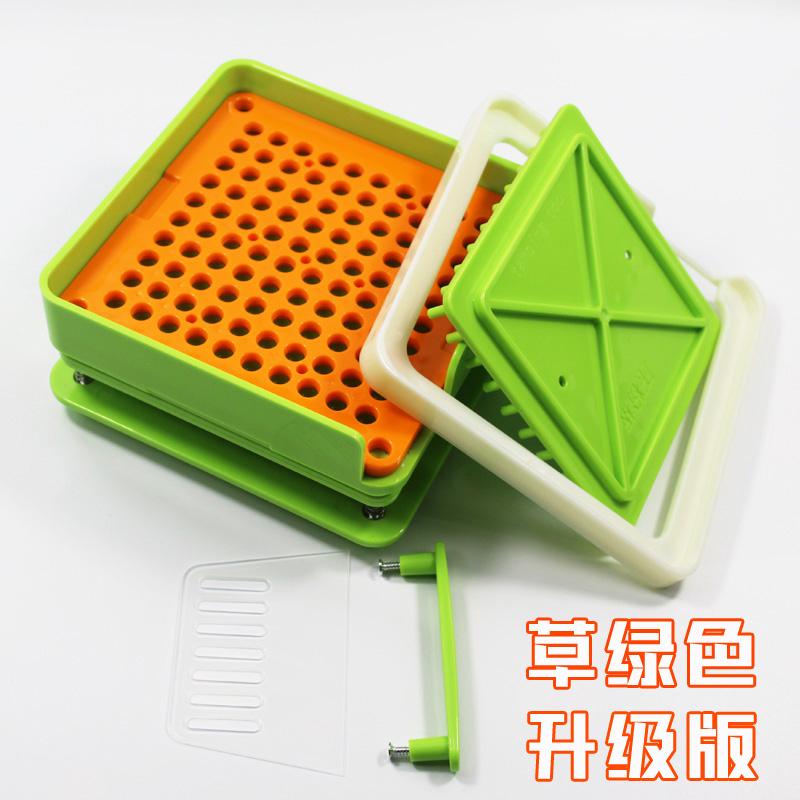 胶囊板0#100孔胶囊壳灌装器胶囊工具填充板灌装机装药器家用神器