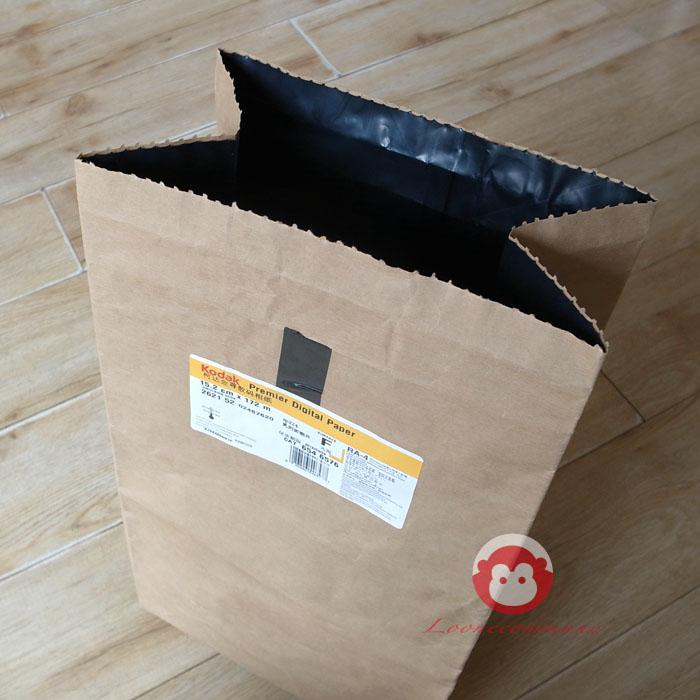 柯达富士感光耗材专用 胶卷防护袋 胶卷收纳保护牛皮纸袋