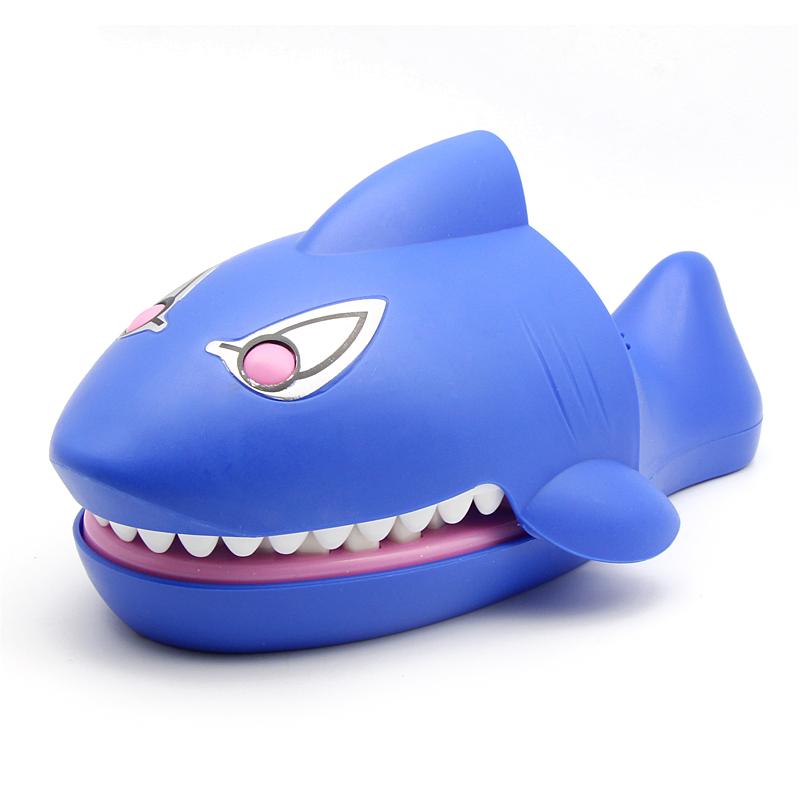 咬手指的大嘴巴鳄鱼玩具咬手鲨鱼咬手玩具拔牙儿童亲子整蛊玩具