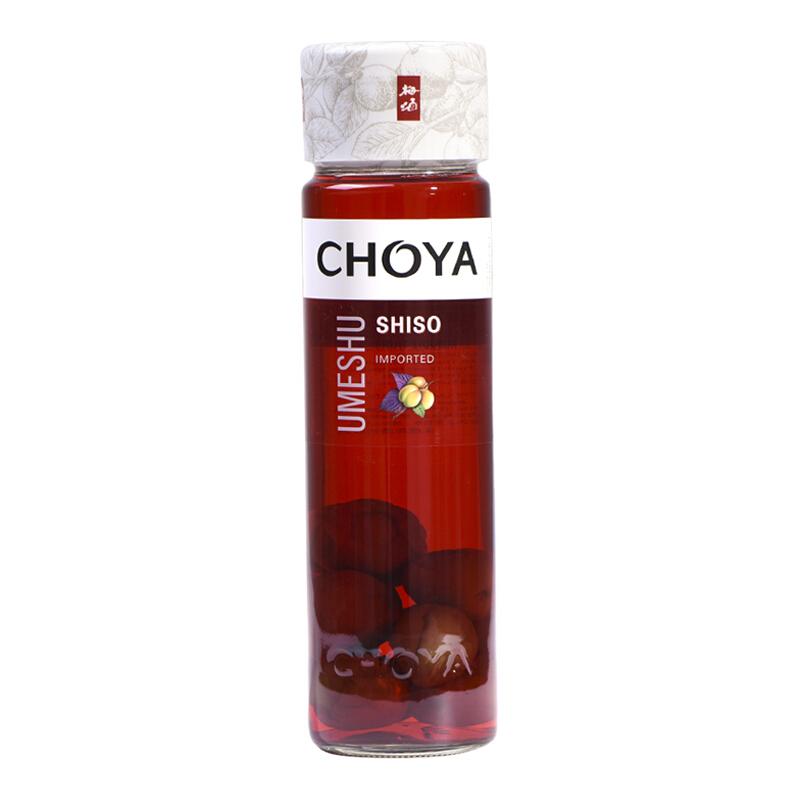 瓶 2 650ml 紫苏蜂蜜梅酒组合套装 梅酒 CHOYA 日本原装进口蝶矢俏雅