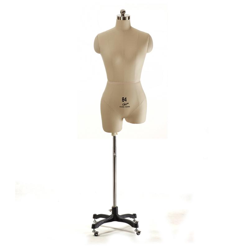 红邦女人台立体裁剪打板标准婚纱半身裁缝制衣服装立裁模特架道具
