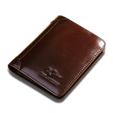 Real Australian Kangaroo Men's Wallet Leather Short Section Vertical Men's First Layer Leather Wallet Men's Card Holder Driver's License Wallet
