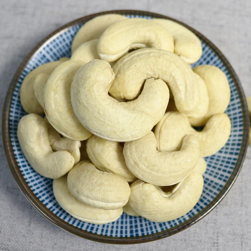 方卓园腰果仁500g 越南特产原味生/熟腰果坚果干果孕妇零食