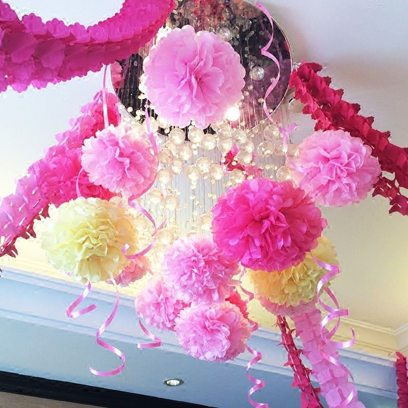 Buy 10cm paper flower ball wedding supplies paper ribbon garland buy 10cm paper flower ball wedding supplies paper ribbon garland decorated birthday wedding wedding marriage room furnished new house in cheap price on mightylinksfo