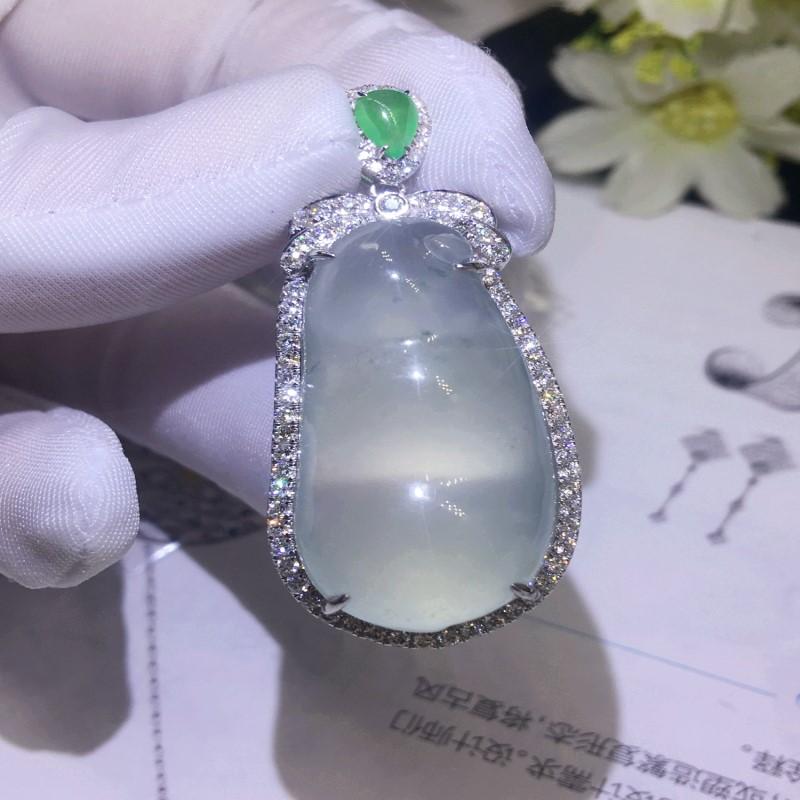 许德福珠宝18K金海水黑珍珠戒指吊坠空托首饰镶嵌加工定制改款