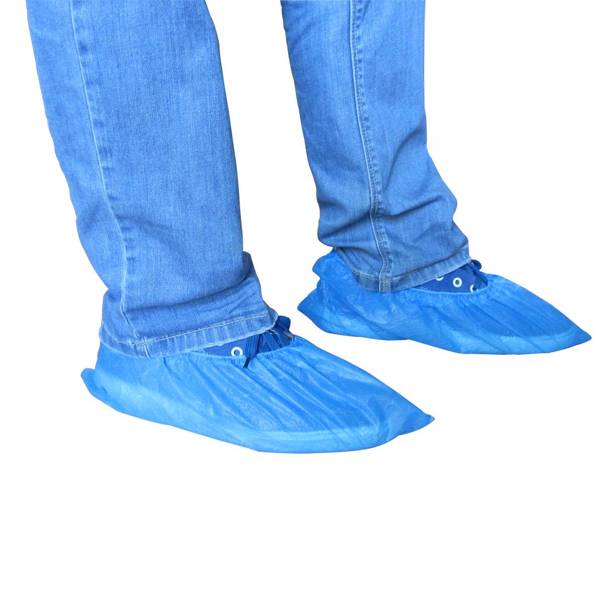卉凡一次性鞋套 家用加厚防滑鞋套防雨防塵防髒鞋套均碼鞋套