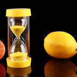 Hourglass 30/60 minutes to one hour children's fruit drop resistance creative personality quicksand bottle ornaments