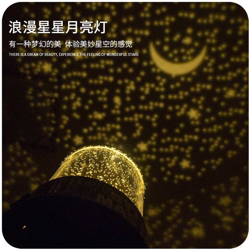 卧室星空灯饰房间装饰品网红彩灯闪灯串灯满天星星小宿舍布置投影
