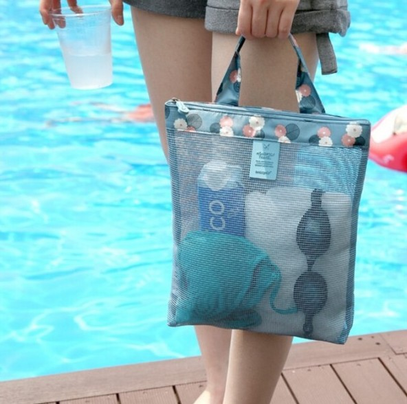 透明游泳包海島沙灘包旅行收納袋女 泰國海邊旅遊用品不防水