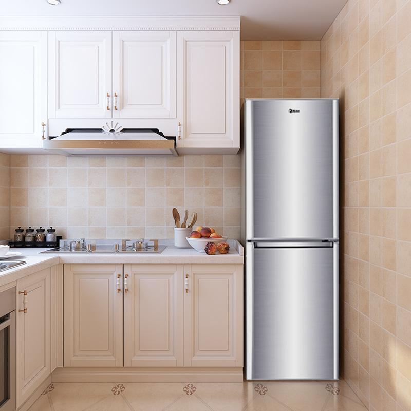 双门冰箱家用节能小冰箱冷藏冷冻双门节能静音 176DC BCD 韩电 KEG