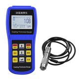 Ap CT100 coating thickness gauge several display paint film thickness instrument car paint thickness detector galvanized coating diaphragm