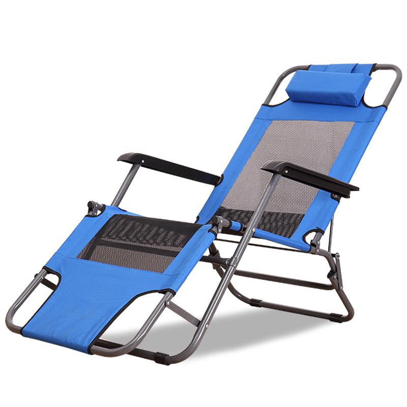 午休躺椅沙滩椅休闲躺椅夏天午睡椅户外躺椅折叠椅办公室阳台躺椅