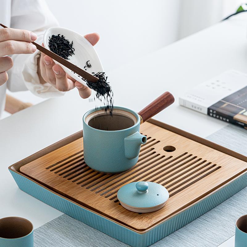 送朋友办公室礼物什么好?日式泡茶茶具套装