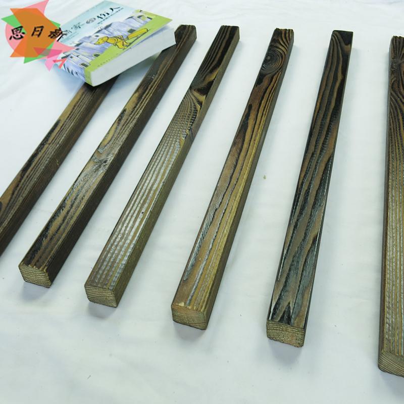 思日新 木龙骨 地板龙骨 碳化木 木方木板木条 防腐木木条30X40MM