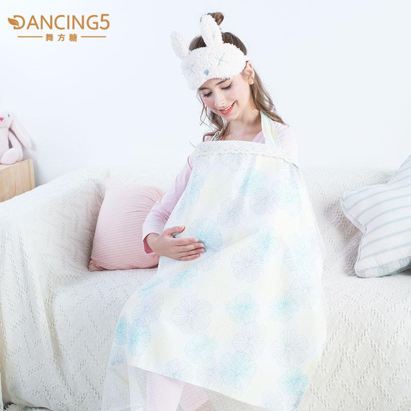棉哺乳巾喂奶巾授乳外出四季棉防走光多功能遮羞布披肩罩推车防虫