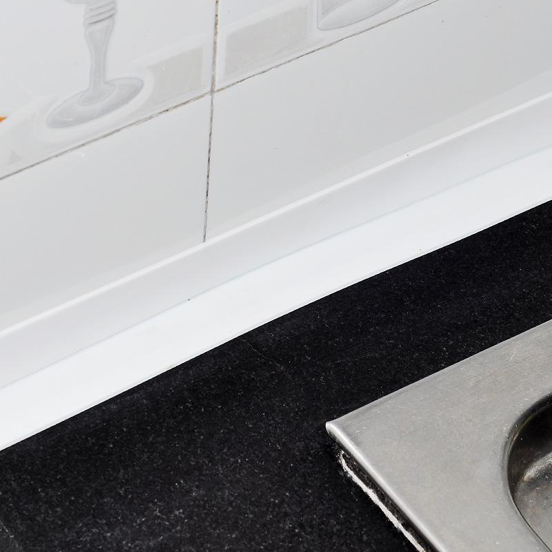 厨房防水条美缝贴水槽防霉贴防潮胶带马桶缝隙墙角线贴浴室地垫贴