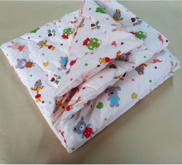 宝宝棉被子婴儿抱被手工棉花手缝褥子被罩幼儿园被子床垫可定做